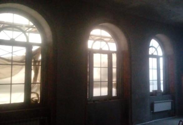 Арочные окна Бр5. Двухкамерный стеклопакет