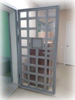 Двери для изоляторов временного содержания (ИВС)